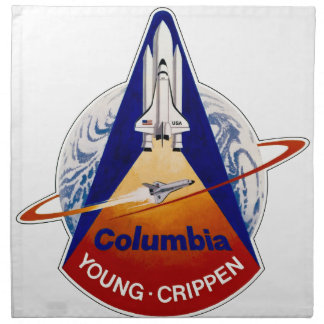 STS 1 Columbia: Young and Crippen Napkin