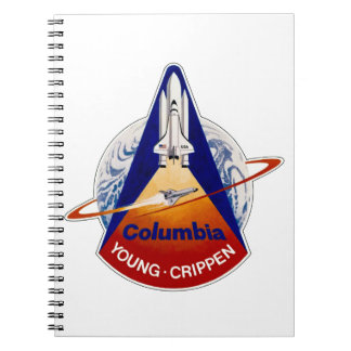 STS 1 Columbia: Young and Crippen Note Book