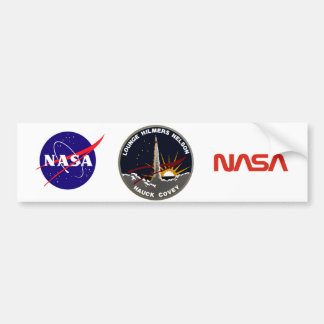 STS-26 Discovery: Return To Flight Bumper Sticker