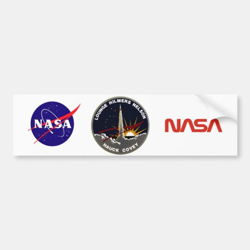 STS-26 Discovery: Return To Flight Bumper Sticker