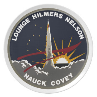 STS-26 Discovery: Return To Flight Melamine Plate