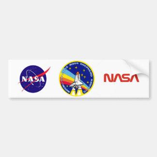 STS-27 Atlantis: OV-104 Car Bumper Sticker