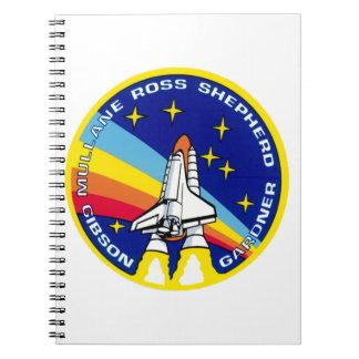 STS-27 Atlantis: OV-104 Spiral Notebook