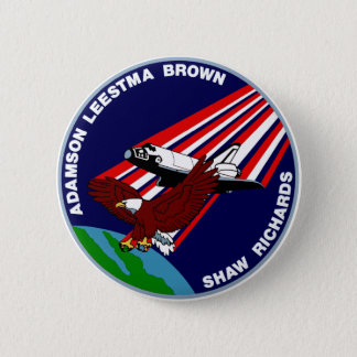 STS -28 Columbia: OV-102 Pinback Button