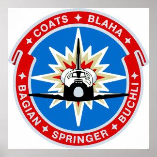STS-29:  Descubrimiento: OV-103 y TDRS Impresiones
