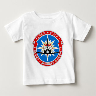 STS-29:  Discovery: OV-103 and TDRS Baby T-Shirt