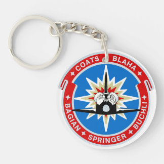 STS-29:  Discovery: OV-103 and TDRS Keychain