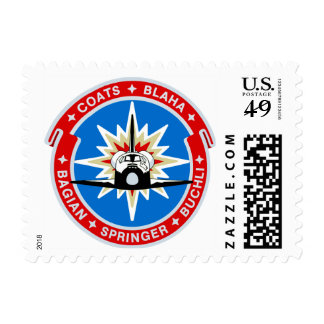STS-29:  Discovery: OV-103 and TDRS Postage Stamp