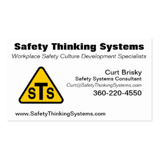 STS 2 BUSINESS CARD