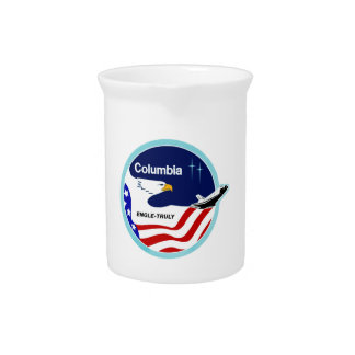 STS-2 Columbia:  Engle & Truly Drink Pitcher