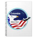 STS-2 Columbia:  Engle y verdad Libreta Espiral