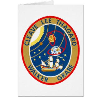 STS-30 Atlantis and Magellan Card