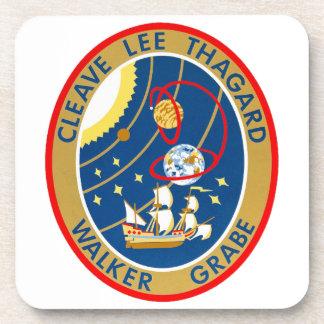 STS-30 Atlantis and Magellan Drink Coasters