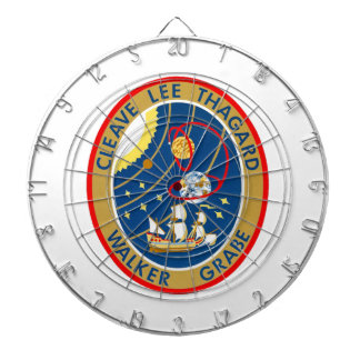STS-30 Atlantis and Magellan Dartboard With Darts