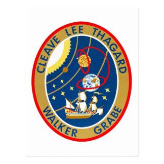 STS-30 Atlantis and Magellan Postcard