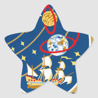 STS-30 Atlantis and Magellan Star Sticker