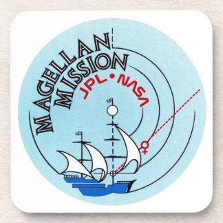 STS-30 Atlantis: Magellan to Venus Beverage Coasters
