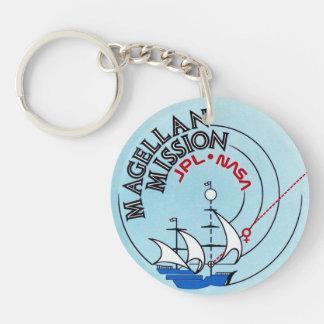 STS-30 Atlantis: Magellan to Venus Double-Sided Round Acrylic Keychain