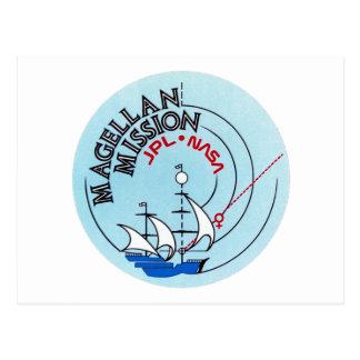 STS-30 Atlantis: Magellan to Venus Postcard