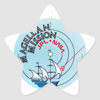 STS-30 Atlantis: Magellan to Venus Star Sticker