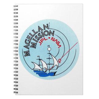 STS-30 la Atlántida: Magellan a Venus Cuadernos