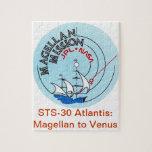STS-30 la Atlántida: Magellan a Venus Puzzle Con Fotos