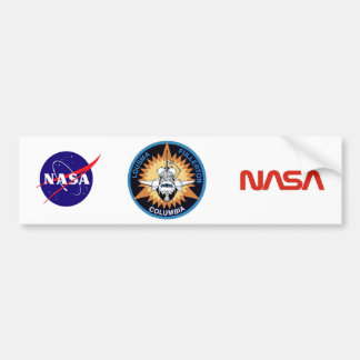 STS 3 Columbia: Lousma and Fullerton Bumper Sticker