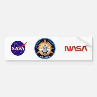 STS 3 Columbia: Lousma and Fullerton Car Bumper Sticker