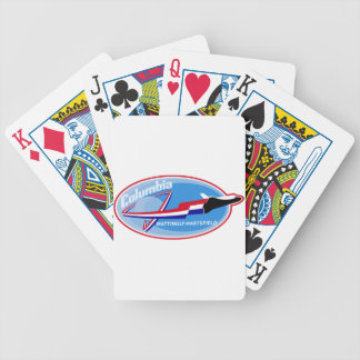 STS 4 Columbia: Mattingly and Hartsfield Bicycle Playing Cards