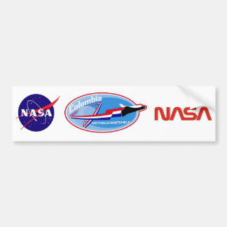 STS 4 Columbia: Mattingly and Hartsfield Car Bumper Sticker