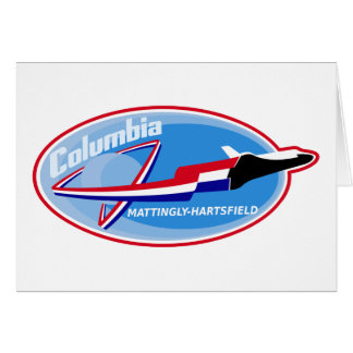 STS 4 Columbia: Mattingly and Hartsfield Card