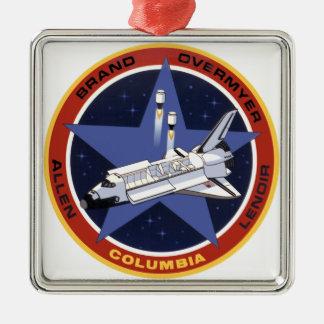 STS-5: Columia 1st Operational Mission Metal Ornament