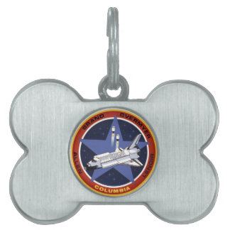 STS-5: Columia 1st Operational Mission Pet Name Tag