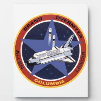 STS-5: Columia 1st Operational Mission Plaque