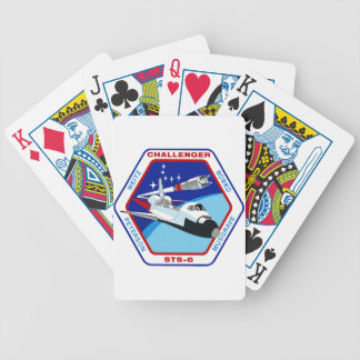 STS 6: Challenger OV-99 Bicycle Playing Cards