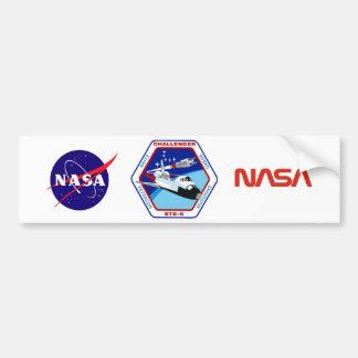 STS 6: Challenger OV-99 Car Bumper Sticker