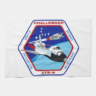 STS 6: Challenger OV-99 Hand Towel