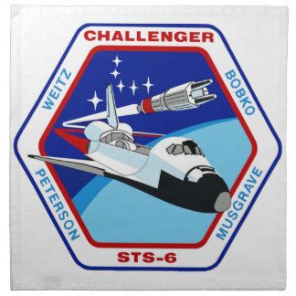 STS 6: Challenger OV-99 Napkin