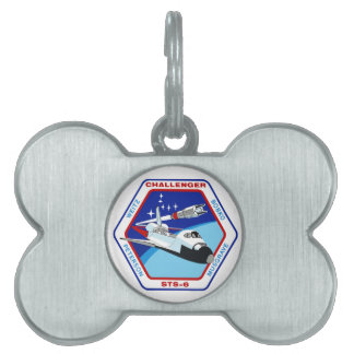 STS 6: Challenger OV-99 Pet Name Tag