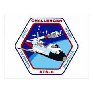STS 6: Challenger OV-99 Postcards