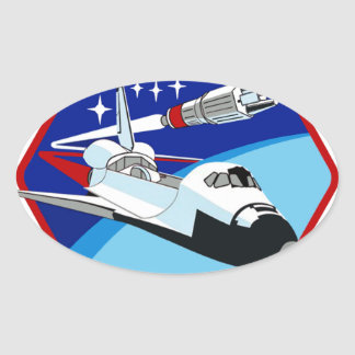STS 6: Challenger OV-99 Oval Sticker