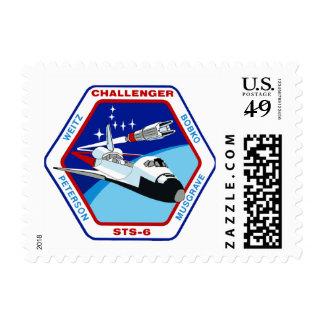 STS -6: First Flight of Challenger OV-99 Postage