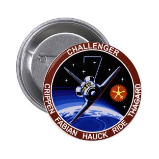 STS-7: Challenger OV-99 & Sally Ride Button