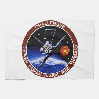 STS-7: Challenger OV-99 & Sally Ride Hand Towels