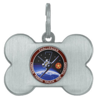 STS-7: Challenger OV-99 & Sally Ride Pet Name Tag