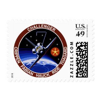 STS-7: Challenger OV-99 & Sally Ride Postage