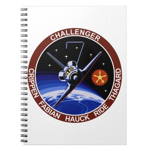 STS-7: Desafiador OV-99 y paseo de Sally Libreta