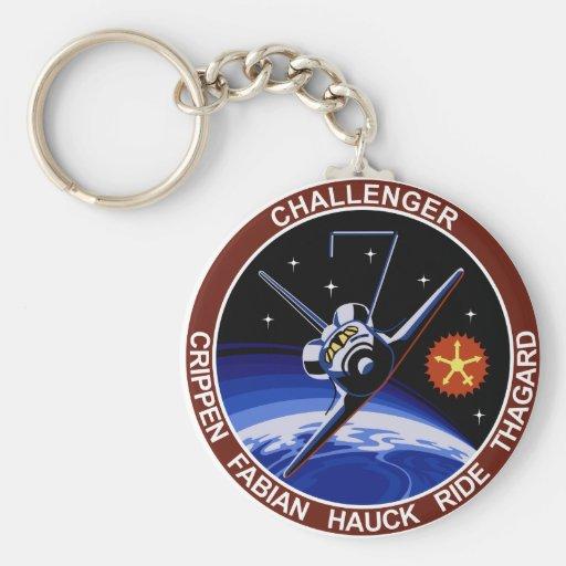 STS-7: Desafiador OV-99 y paseo de Sally Llavero Redondo Tipo Pin
