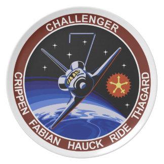 STS-7: Desafiador OV-99 y paseo de Sally Plato Para Fiesta