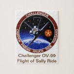 STS-7: Desafiador OV-99 y paseo de Sally Rompecabeza